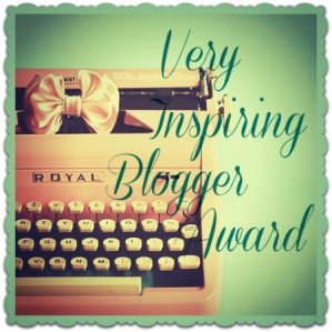 very inspiring blogger award nomination going gentle into that good night