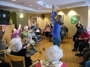 exercise and fitness for our loved ones with dementias and Alzheimer's Disease