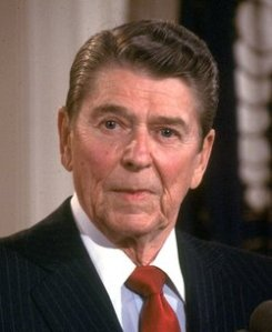 Ronald Reagan dementia 2nd term going gentle into that good night