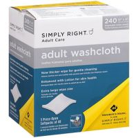 disposable premoistened adult washcloths going gentle into that good night