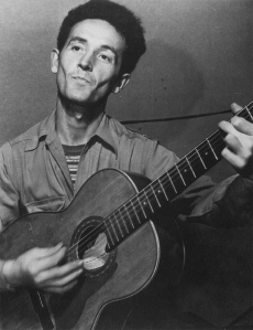 Woody Guthrie as a Young Man