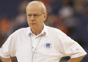 Bill Guthridge UNC-Chapel Hill Basketball Coach 1997-2000