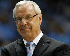 University of North Carolina Chapel Hill Head Coach Roy Williams