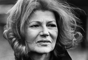 Rita Hayworth as an older woman
