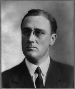 Franklin D. Roosevelt experienced cognitive impairment from vascular dementia the last several years of his presidency of the United States
