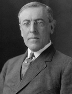President Wilson had suffered from arteriosclerosis since 1906 and was showing signs of vascular dementia by 1917.