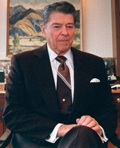 President Reagan had already begun his descent into dementia when he took office in his first term as the president of the United States