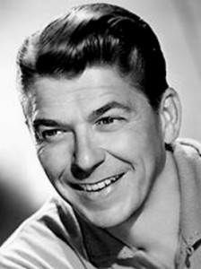 Ronald Reagan Younger Portrait