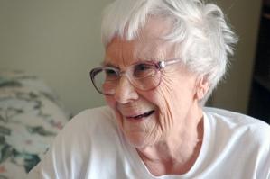 An elderly Harper Lee (2010)