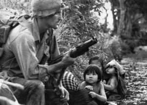 The use of tranquilizers and amphetamines became ubiquitous among American soldiers during the Vietnam War