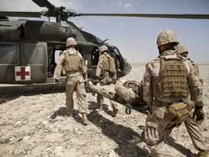 Blast force wounds are common in modern warfare and leave long-term neurological and emotional damage