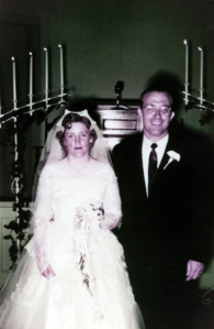 Daddy and Mama just married June 9, 1956