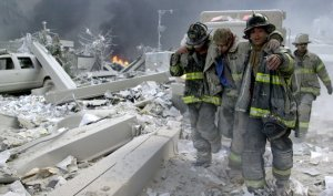 Fire department New York first responders world trade center 9/11/01