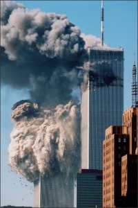 9/11/01 Collapse of Tower 2 of the World Trade Center