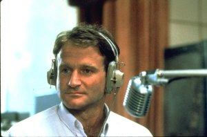"Robin Williams in ""Good Morning, Vietnam"""