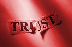 Confabulation breaks trust