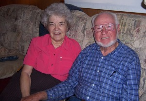 Lloyd and Helen Garrison in their golden years